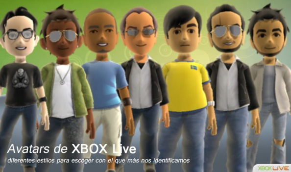 Fig-1: Avatars Xbox Live