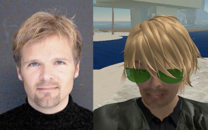 Comparación humano - avatar