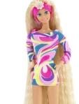 El cabello de Barbie 'Totally Hair' era tan largo que rozaba sus tobillos. Fue un récord de ventas histórico en 1992. (Foto: Cortesía Barbie)