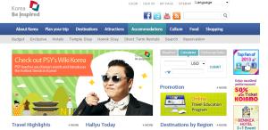 Psy promociona Corea del sur