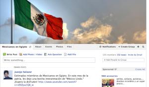 Grupo en Facebook: Mexicanos en Egipto